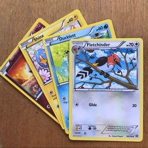 Pokémon 4 card bundle